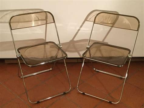 sedie plia castelli giancarlo piretti for anonima castelli 2 plia chairs