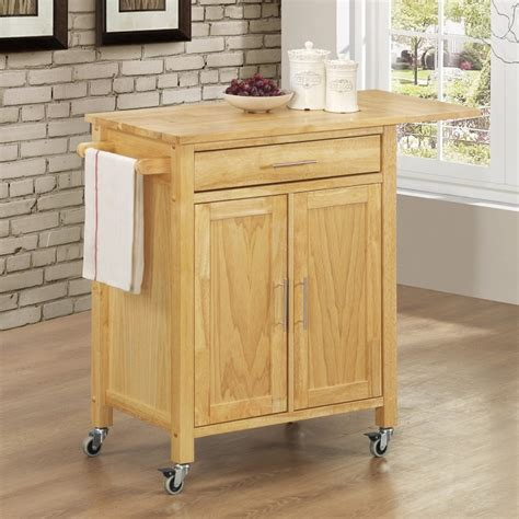 Portable kitchen island with drop leaf     Kitchen ideas