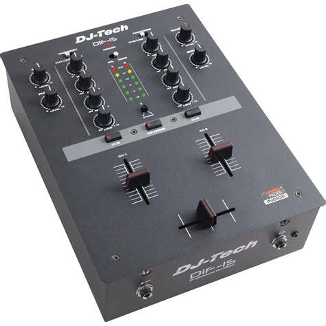 Mixer Alto S16 Dj Tech Dif 1sv2 2 Channel Dj Mixer Black Dif1s V2 B H Photo