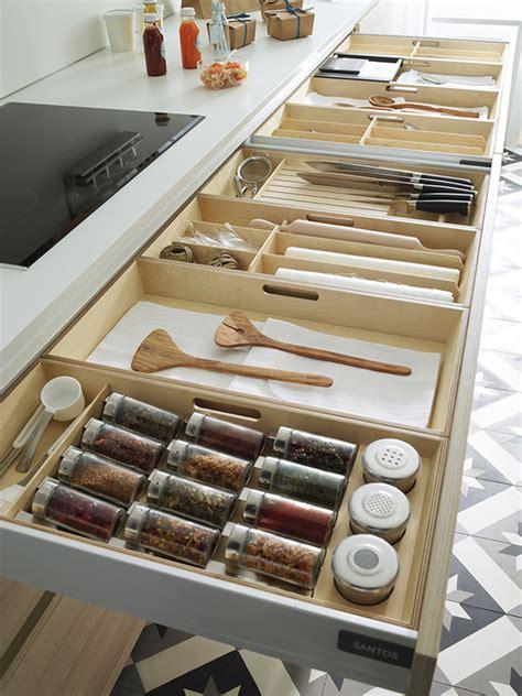 especiero organizador de cajones especiero accesorios de cocina cocinas santos