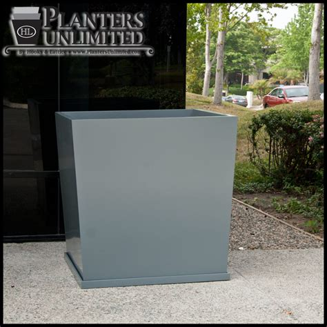 Commercial Fiberglass Planters by Large Commercial Fiberglass Planters Planters Unlimited