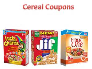 cereal coupons 1 13 16 lucky charms kellogg s nature