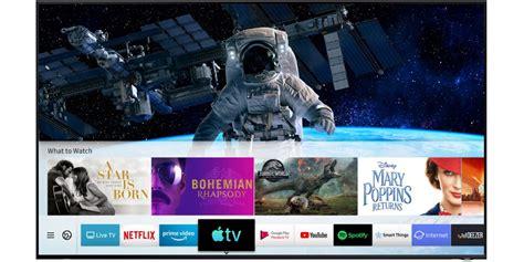 apple tv app  airplay  debut  samsung smart tvs  ios   tvos  release