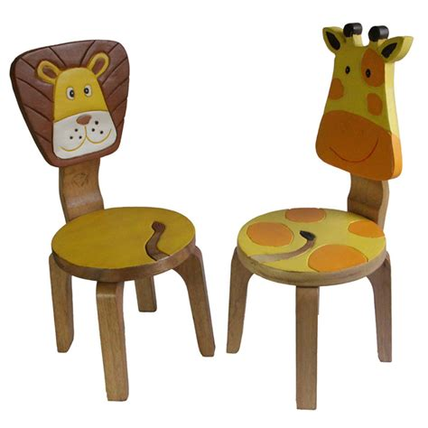 Giraffe Furniture by Wooden Chair Set Giraffe Buy 30 50 Sale