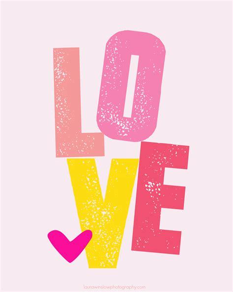 printable heart poster free valentine love printable memorable words monday