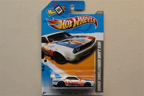 Hotwheels Dodge Challenger Drift Car B 95 wheels 2012 hw code cars dodge challenger drift car white