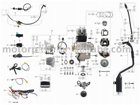 Radiator Assy I Panther 2 3 mini panther 110cc atv wiring diagram mini panther 110cc
