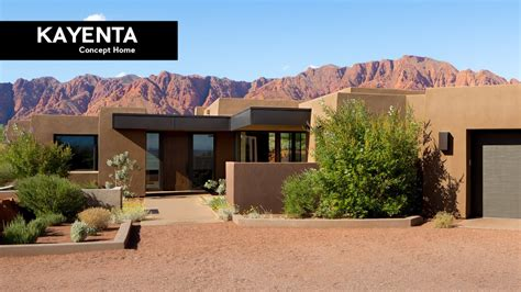 desert architecture design  kayenta concept home ivins utah youtube