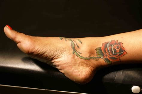 amazing rose tattoos index of images 22
