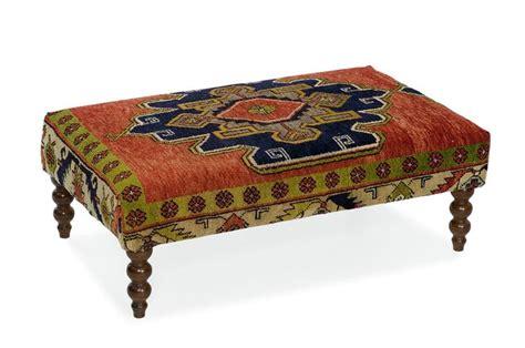 Rug Upholstered Ottoman by Turkish Rug Ottoman Thumbnail Remodeling Home