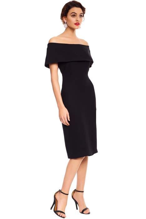 C L Dress Sabrina Ayumi Black black sabrina dress by carla zatti for rent glamcorner
