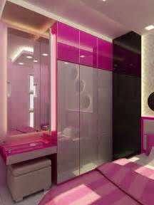 Charming Interior Designs Of Bedrooms #2: Bedroom-cupboard-designs-with-dressing-table-small-bedroom-with-a-minimalist-color-combination-of-pink---home-pictures.jpg