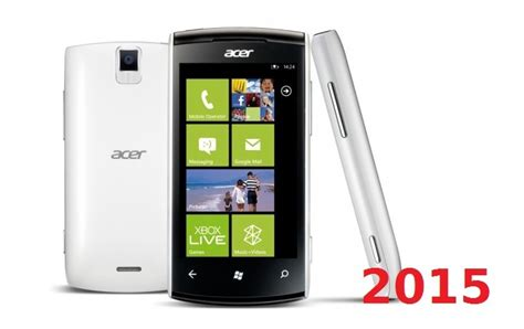 new windows phone coming out in 2015 next technology update acer s first windows phone handset since 2011 coming next