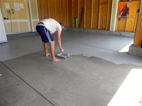 How To Remove Paint From A Garage Floor by Floor Design Paint Garage Floor Kit Dy 8l