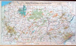 pennsylvania wall map