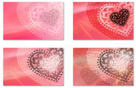 windows 7 themes love hearts desktop fun show your valentine s day love with these