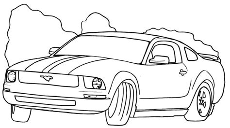 ford gt coloring pages coloring pages