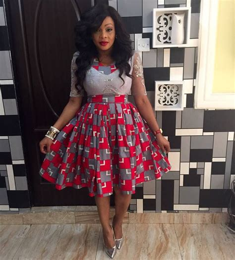 Elegant Ankara Short Gown Styles For Ladies