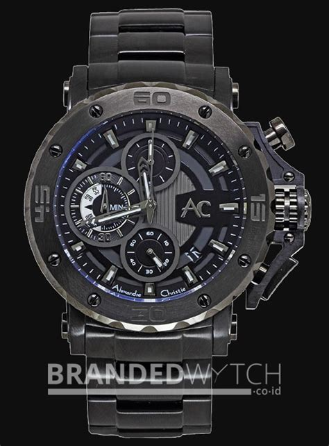 Jam Tangan Pria Alexandre Christie 9205 Collection Black Original alexandre christie 9205 mc black grey