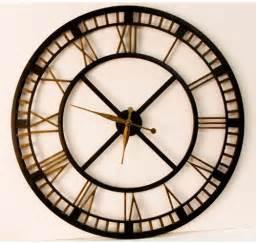 Living Room Big Clocks Looking For Large Clocks Five Railway Clocks That Wow