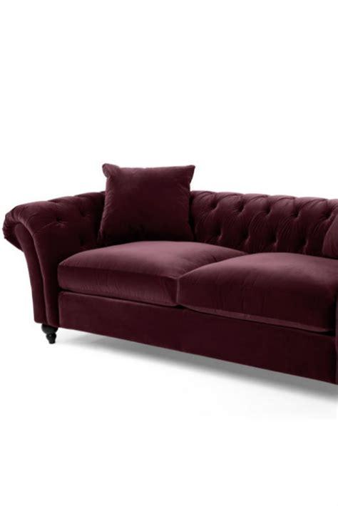 Was Ist Ein Chesterfield Sofa by Bardot Sofa Aus Merlotrotem Samt Du Liebst Den