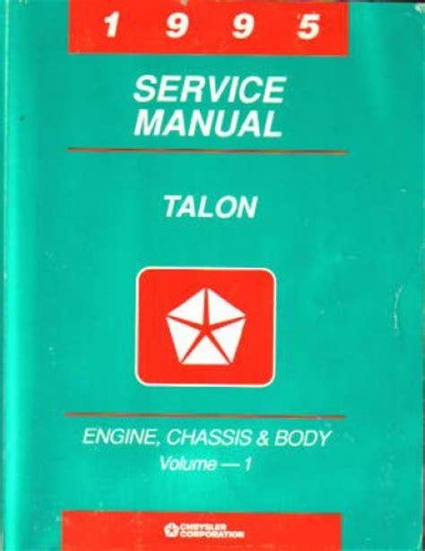 service manual 1995 eagle talon speedometer repair service manual 1995 eagle talon 1995 eagle talon service manual