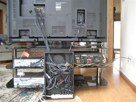 how to organize wires behind how to hide the wires and cables behind the tv or computer