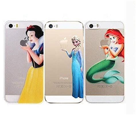 Disney Princess Iphone6 6s Snow White Cinderella apple iphone 5 5s disney princess snow white frozen cinderella elsa cover