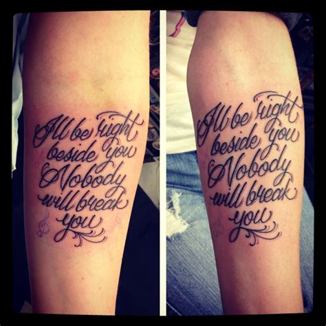 meaningful sister quotes tattoos
