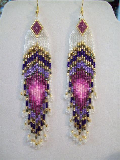 beadwork earrings handmade beaded rings