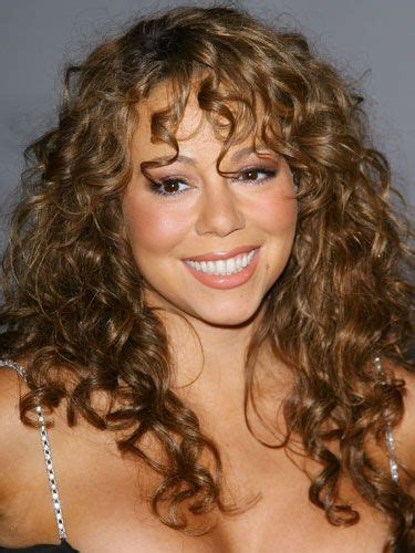 curly hairstyles with fringe for long hair 28 glamorous ways to show off your curls mariah carey