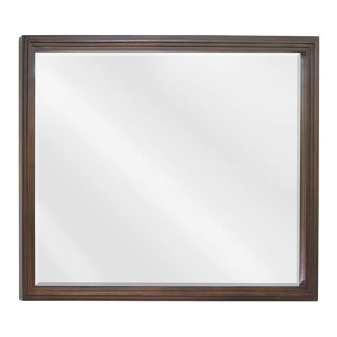 walnut bathroom mirror 48 189 compton walnut bathroom vanity van029 48 t
