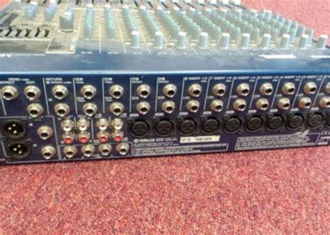 Mixer 16 Channel Yamaha Mg16 rent yamaha mg16 6fx 16 channel mixer lama