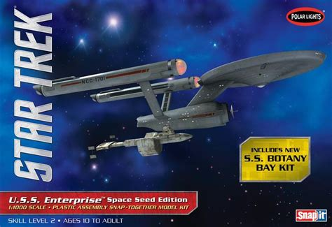 starship enterprise model with lights the trek collective latest star trek models from round 2