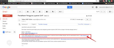 email verifikasi kirim ulang email verifikasi akun siapku situs bantuan