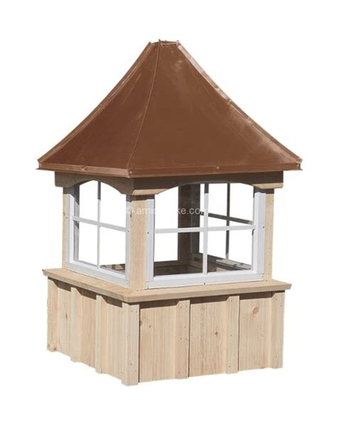 Amish Cupola Rooftop Cupolas Cedar And Pine Series Amish Mike Amish