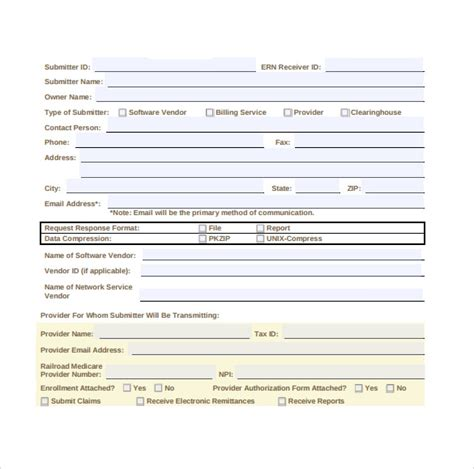 medicare application form medicare application forms 9 documents free in pdf
