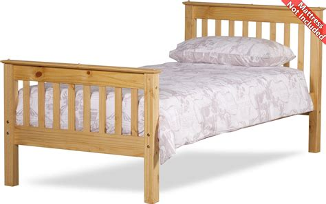 Somerset Bed Frame Amani Somersetbed30 Waxed Pine Beds
