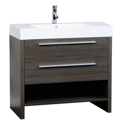 designer bathroom vanities mula 35 5 quot modern bathroom vanity oak rs l900 oak on