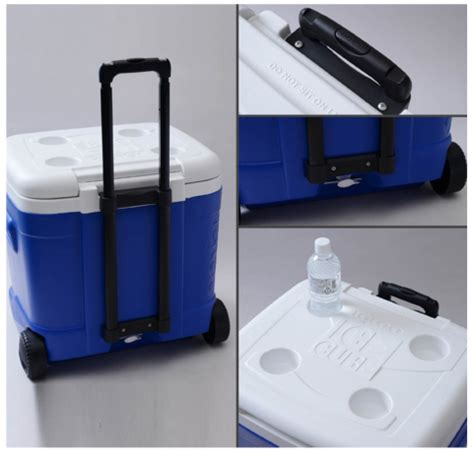 igloo ice cube roller cooler 60 quart igloo ice cube roller cooler less than 25