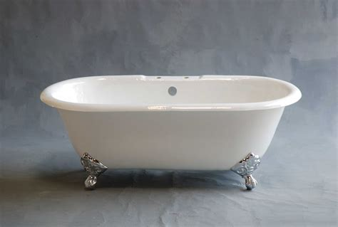 7 Ft Bathtub by Mendocino 5 Foot Cast Iron Dual Clawfoot Leg Tub 7 Inch Deck Mount Drilling