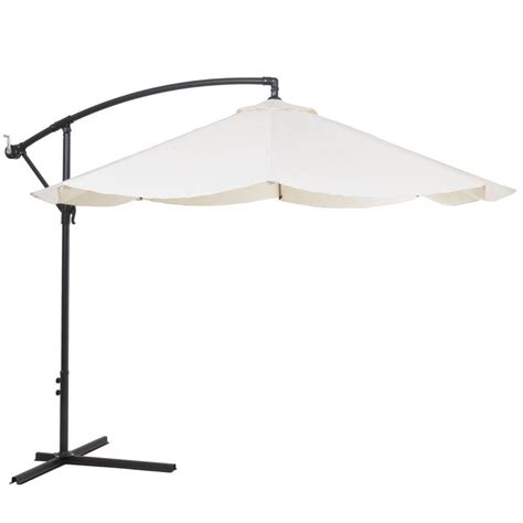 10 ft patio umbrella garden 10 ft offset aluminum hanging patio umbrella