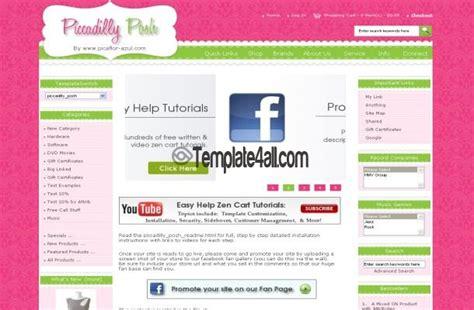 free templates for zen cart boutique responsive zen cart template download