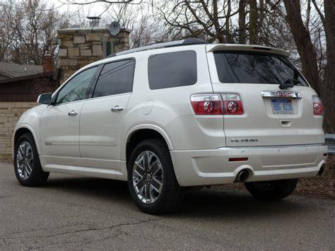2011 acadia gmc review 2011 gmc acadia denali the about cars autos