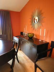 Orange Dining Room Orange Rooms Fresh As A Citrus