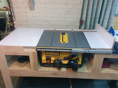 table saw station plans table saw station album and woodworking