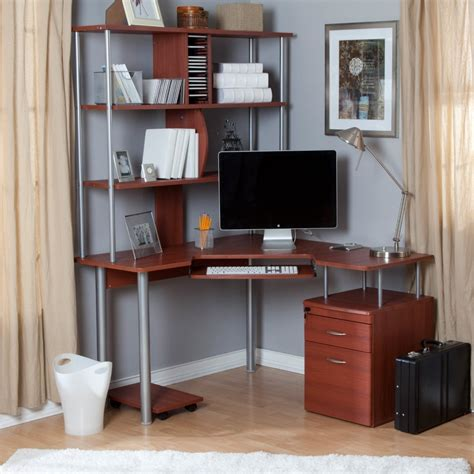 Small Corner Desk With Shelves by 22 Diy Computer Desk Ideas That Make More Spirit Work