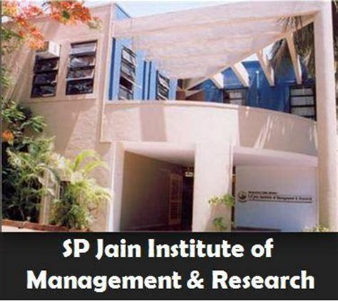 Cg Institute Of Management Mba by Sp Jain Institute Of Management Research Mumbai