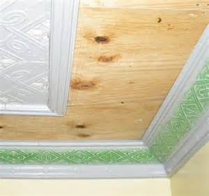plywood ceiling panels how to install a tin ceiling house web