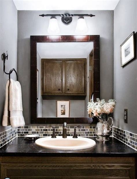 Brown And Gray Bathroom | 35 grey brown bathroom tiles ideas and pictures